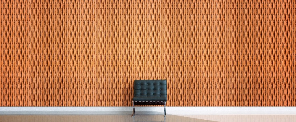 Plyboo Acoustical Panel Reveal